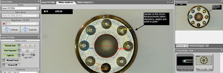 Metex Digital Microscope Software