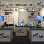 Ash's booth at Electronica 2014