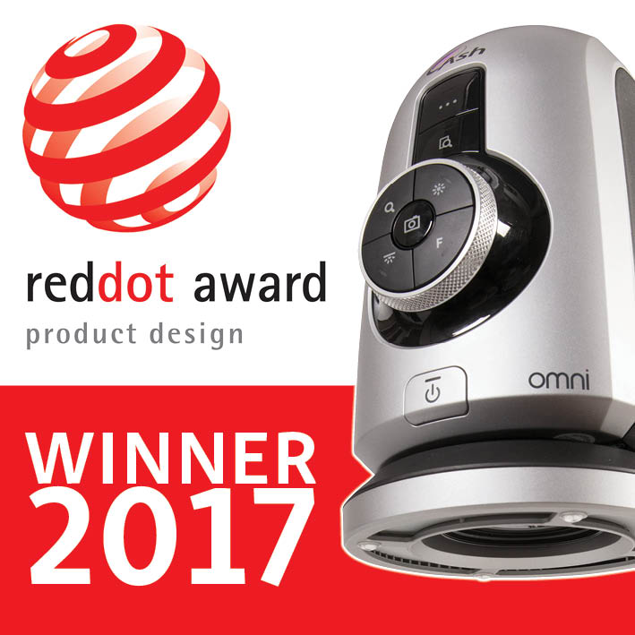 Ash Digital Microscope wins Reddot award