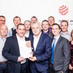 Ash Technologies Reddot Award Ceremony 2017