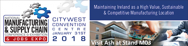 Ash Technologies National Manufacturing & Supply Chain Conference 2018