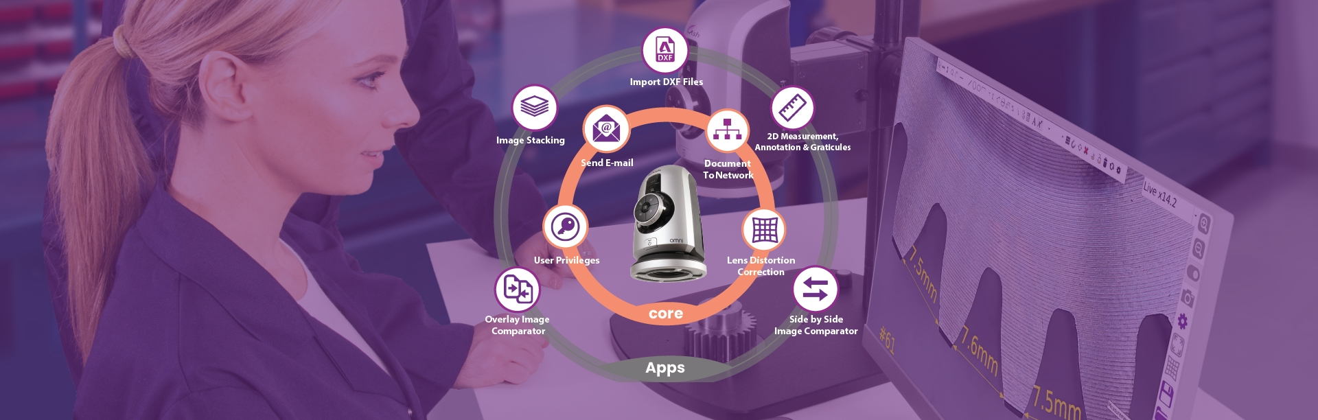 Omni Core Digital Microscope